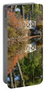 Bridge Over Fall Waters Portable Battery Charger