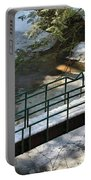 Bridge Over Frozen River Portable Battery Charger