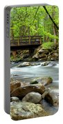 Bridge Over Little Pigeon River Portable Battery Charger