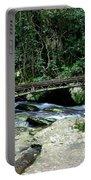 Bridge Over Mountain Stream Portable Battery Charger