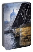 Bridge Over Seine In Paris Portable Battery Charger