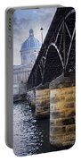 Bridge Over Seine In Paris Portable Battery Charger