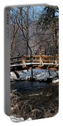 Bridge Over Snowy Valley Creek Portable Battery Charger