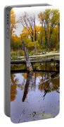 Bridge Over The Pond Portable Battery Charger