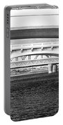 Bridge Panorama Black And White Portable Battery Charger