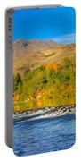 Bridge View Portable Battery Charger by Robert Bales