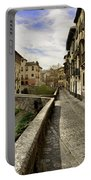 Bridges At Darro Street In Historic Albaycin In Granada Portable Battery Charger