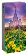 Brigham City Temple Portable Battery Charger