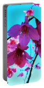 Bright Blossoms Portable Battery Charger