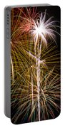 Bright Bursts Of Fireworks Portable Battery Charger