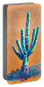 Bright Cactus Portable Battery Charger