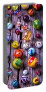 Bright Colorful Marbles Portable Battery Charger