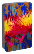 Bright Colorful Mums Portable Battery Charger