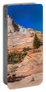 Bright Fall Colors At Zion Portable Battery Charger