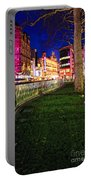 Bright Lights Of London Portable Battery Charger by Jasna Buncic