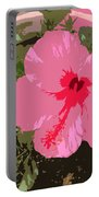 Bright Pink Portable Battery Charger