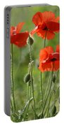 Bright Poppies 1 Portable Battery Charger