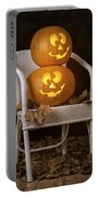 Brightly Lit Jack O Lanterns Portable Battery Charger