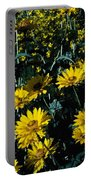 Brillant Flowers Full Of Sunshine. Portable Battery Charger