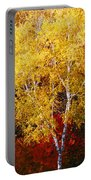 Brilliance Of Autumn On Rib Mountain Portable Battery Charger