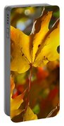 Brilliant Autumn Light And Color Portable Battery Charger