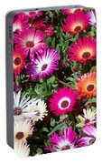 Brilliant Flowers Portable Battery Charger