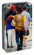 Bringing The Sunflower Home Portable Battery Charger