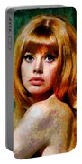 Brit Ekland - Abstract Expressionism Portable Battery Charger
