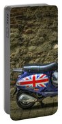 British At Heart Portable Battery Charger by Evelina Kremsdorf