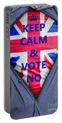 British Businessman Votes No Portable Battery Charger