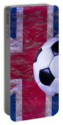 British Flag And Soccer Ball Portable Battery Charger