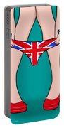 British Girl   Portable Battery Charger