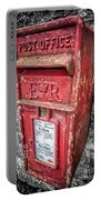 British Post Box Portable Battery Charger by Adrian Evans