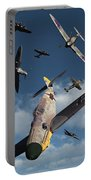 British Supermarine Spitfires Attacking Portable Battery Charger