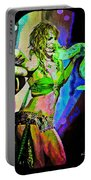 Britney Neon Dancer Portable Battery Charger