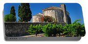 Brittany Vineyard And Monastery  Portable Battery Charger