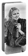 Broadway Actress Claire Luce Portable Battery Charger