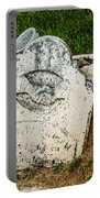 Broken Headstone Squirel Portable Battery Charger