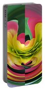 Bromiliad Abstract Portable Battery Charger
