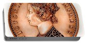 Bronze Empress Victoria Portable Battery Charger