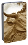 Bronze Longhorn Portable Battery Charger