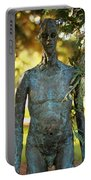 Bronze Man Portable Battery Charger