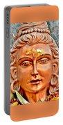 Bronze Shiva Statue - Uttarkashi India Portable Battery Charger