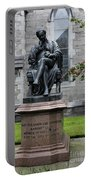 Bronze Statue Of Sir Benjamin Lee Guinness  Portable Battery Charger