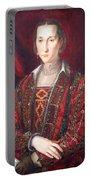 Bronzino's Eleonora Di Toledo Portable Battery Charger