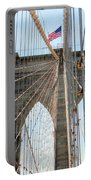 Brooklyn Bridge Cables Portable Battery Charger