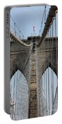 Brooklyn Bridge Cables Nyc Portable Battery Charger