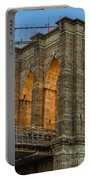 Brooklyn Bridge Tower Portable Battery Charger