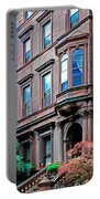 Brooklyn Heights - Nyc - Classic Building And Bike Portable Battery Charger