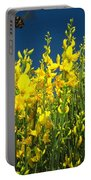 Broom And Carpenter Bee Portable Battery Charger